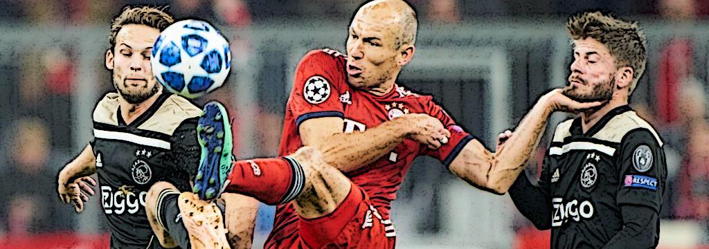 Arjen Robben v Ajax