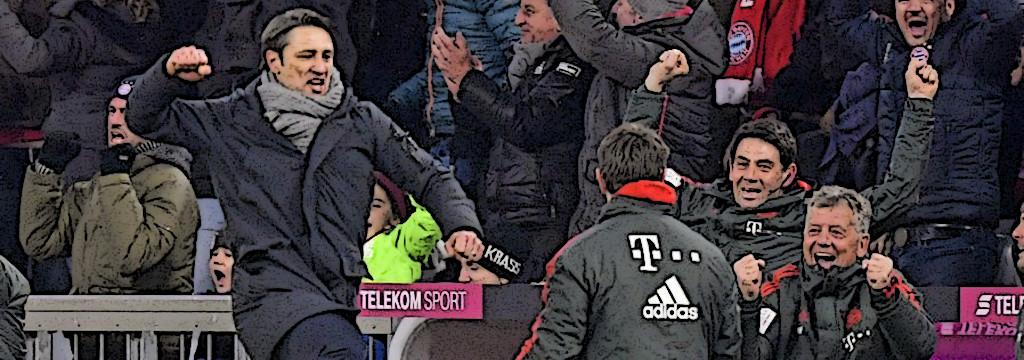 Niko Kovač celebrates